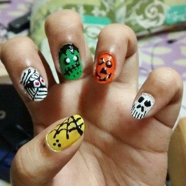 Halloween..!!! nail art by Sohini  Sengupta