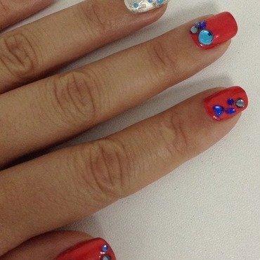 Hot Summer Days nail art by Idreaminpolish