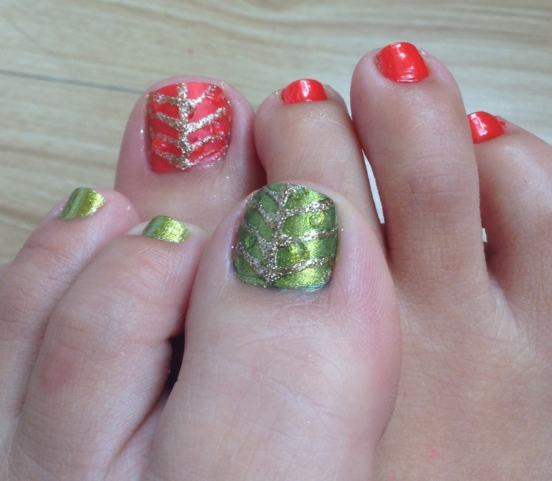 Autumn Rain nail art by Idreaminpolish