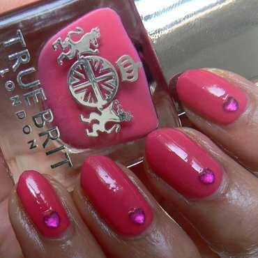 Lady Penelope nail art by Aysha Baig