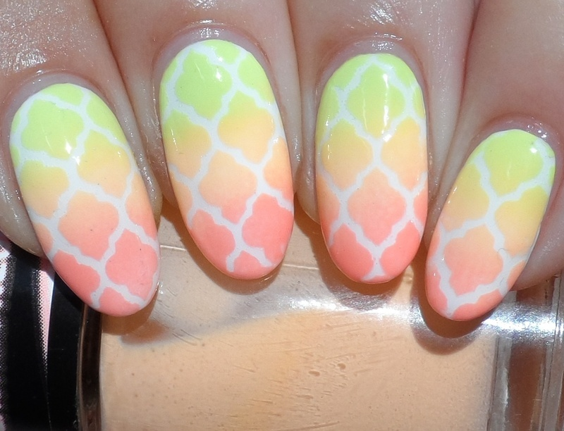 Soft Summer nail art by Plenty of Colors
