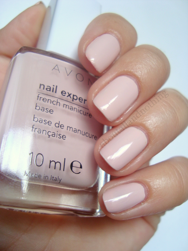 Avon French Manicure Base Lilac Swatch by Kasia