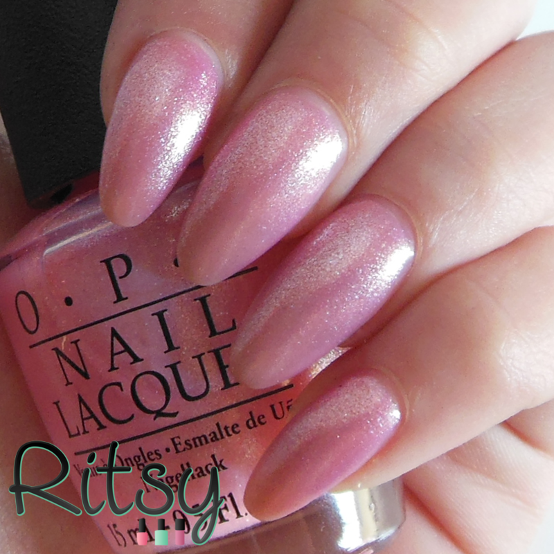 OPI Princesses Rule! Swatch by Ritsy NL