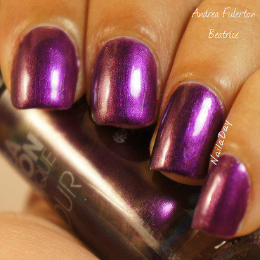 Andrea Fulerton Beatrice Swatch by Nailaday
