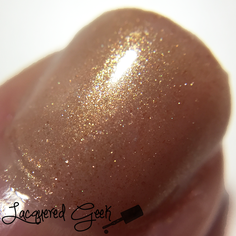 Lucky 13 Lacquer Bitchy Trampoline Swatch by Kim (Lacquered Geek)