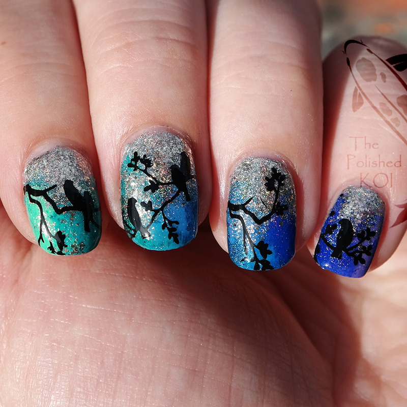 Love Birds Nail Art: Nailpolis: Museum Of Nail Art