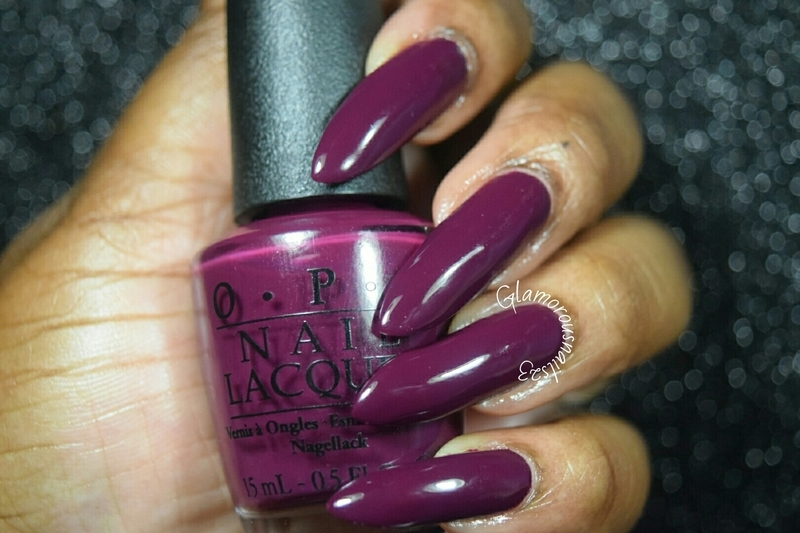 O.P.I In The Cable Car-Pool Lane Swatch by glamorousnails23