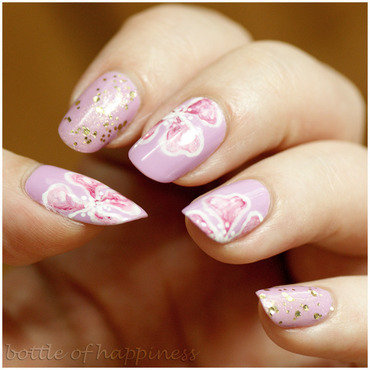 Secret Garden nail art by Kasia (hatsu hinoiri)