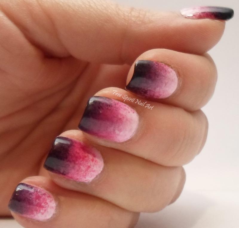Dipped in Merlot nail art by Free_Spirit_Nail_Art
