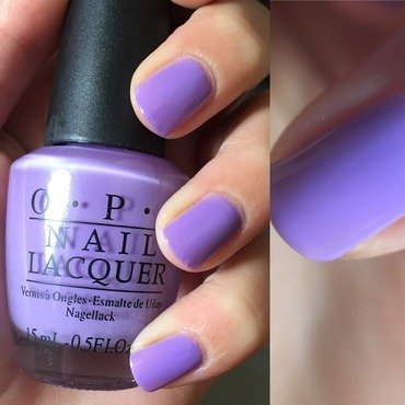 OPI Do you lilac it? Swatch by Amandineprc