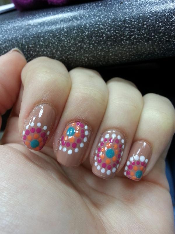 dotticure nail art by Maya Harran