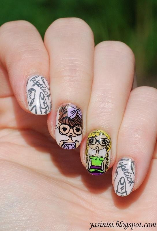 Girls :) nail art by Yasinisi