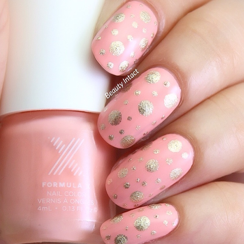 Polka Dots  nail art by Beauty Intact
