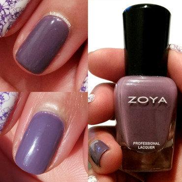 Zoya Violet Swatch by kitalovessm