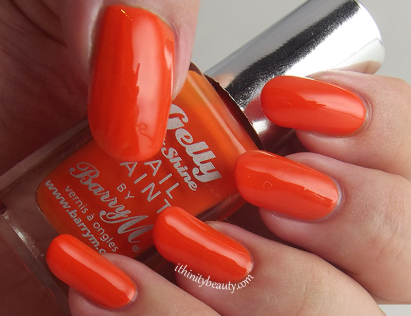 Barry M Tangerine Swatch by Ithfifi Williams