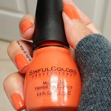 Sinfulcolors Feel the Vibe Swatch by Monica
