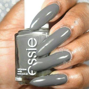 Essie power clutch Swatch by glamorousnails23