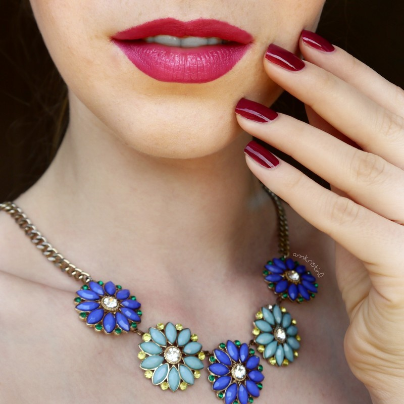 Isadora Bohemian Rose Swatch by Ann-Kristin