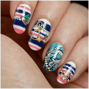 Ahoi! nail art by Kasia (hatsu hinoiri)
