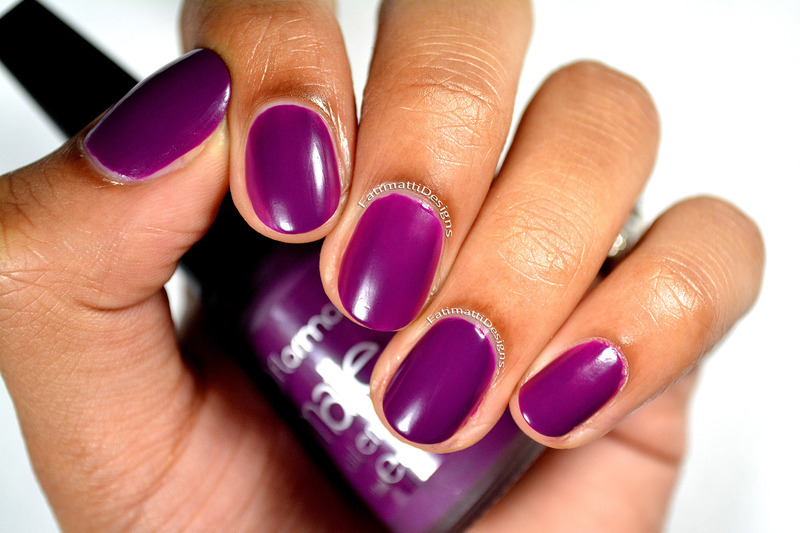 Flormar Matte M10 Extreme Grape Swatch by Fatimah