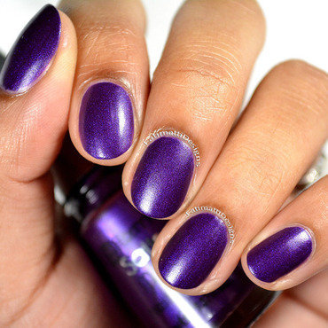 flormar Satin Matte GS13 Orchid Swatch by Fatimah