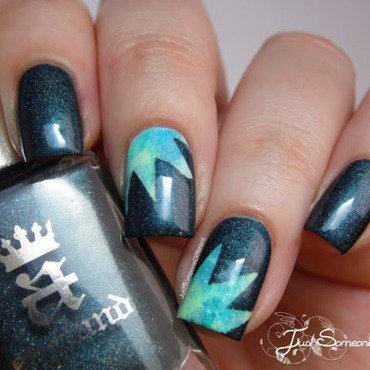 Ka-Boom nail art by HUCK Caroline