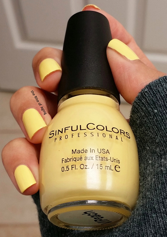SinfulColors V.I.Peach Swatch by Monica