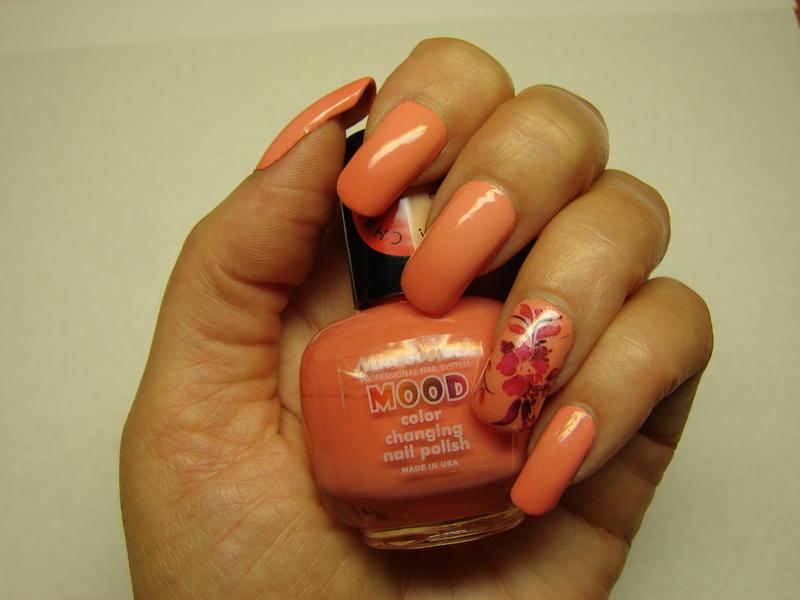 Fall Mood nail art by NinaB