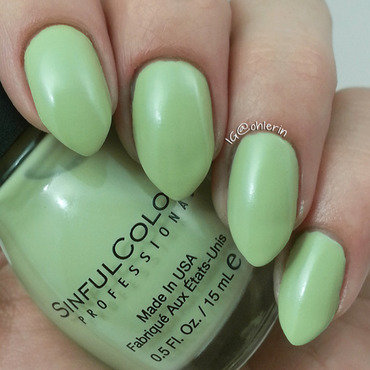 Sinful Colors Chalk It Up Swatch by Lindsay