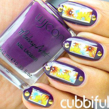 Floral studs nails thumb370f
