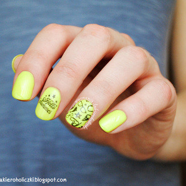 Hello summer nail art by Olaa