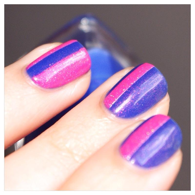 Summer ! nail art by Bulleuw