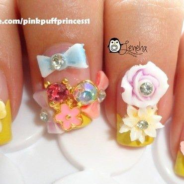 Japanese Gyaru/Hime Nails nail art by Leneha Junsu