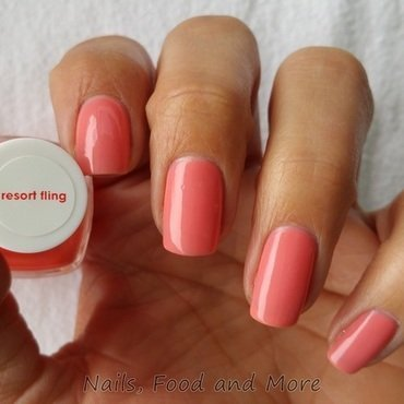 Essie Resort Fling Swatch by happymami2009
