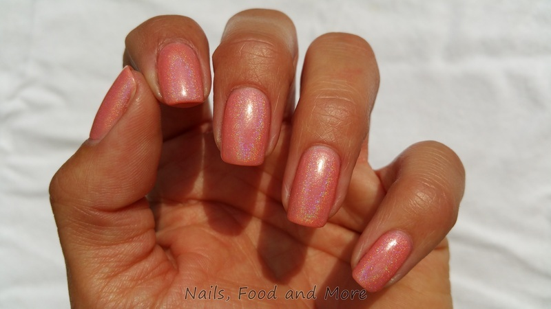 Essie Resort Fling and Dance Legend Top Prismatic Swatch by happymami2009