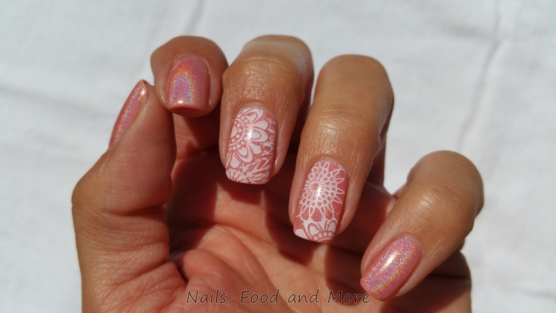 Stamping nail art by happymami2009