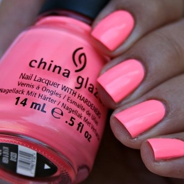 China Glaze Neon & on & on Swatch by Romana
