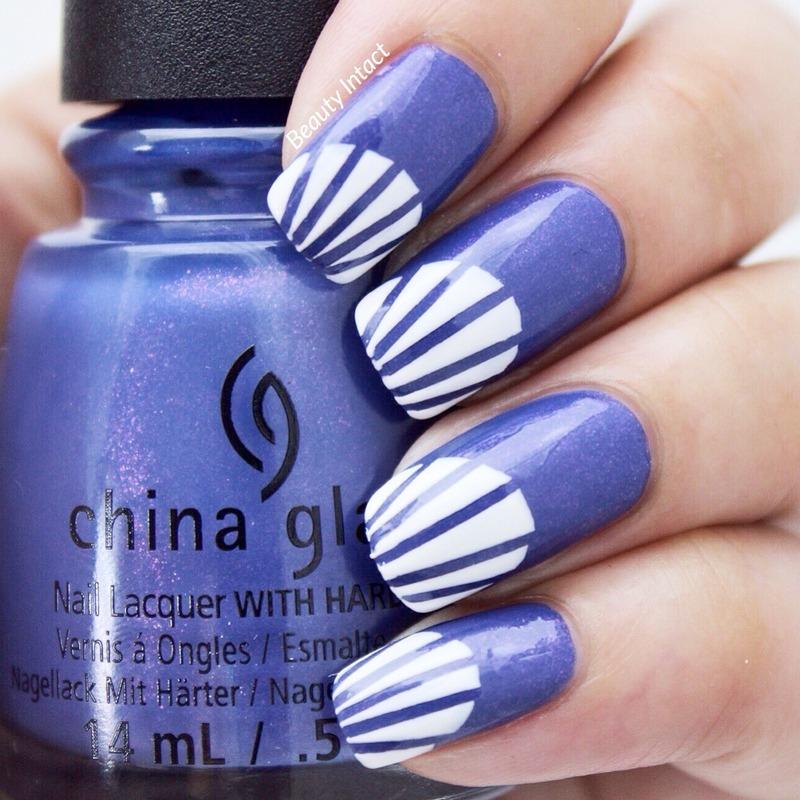 Fancy Pants nail art by Beauty Intact