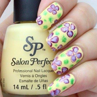 Floral Nails nail art by Beauty Intact