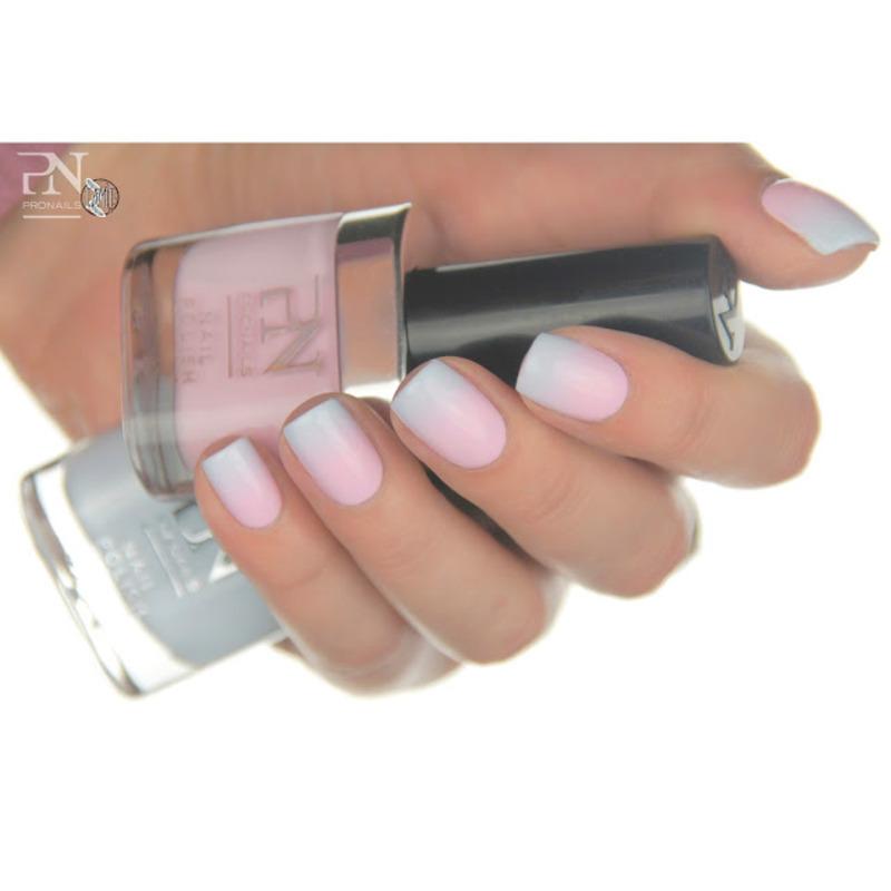 Candy gradient nails nail art by Paulina