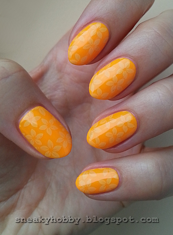 Tropical Pop! nail art by Mgielka M