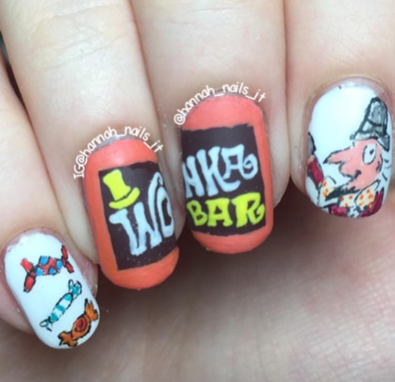 Pure Imagination  nail art by Hannah