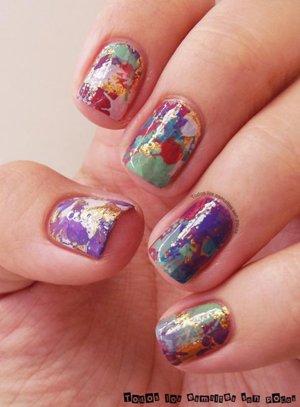 Inspiration...Tiff Manuel nail art by Maria