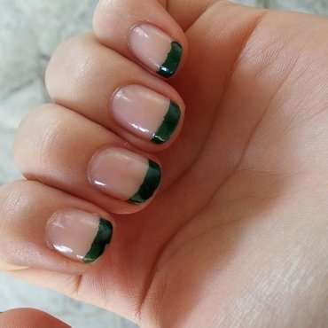pretty colors by myluna dark green swatches and nail art nailpolis
