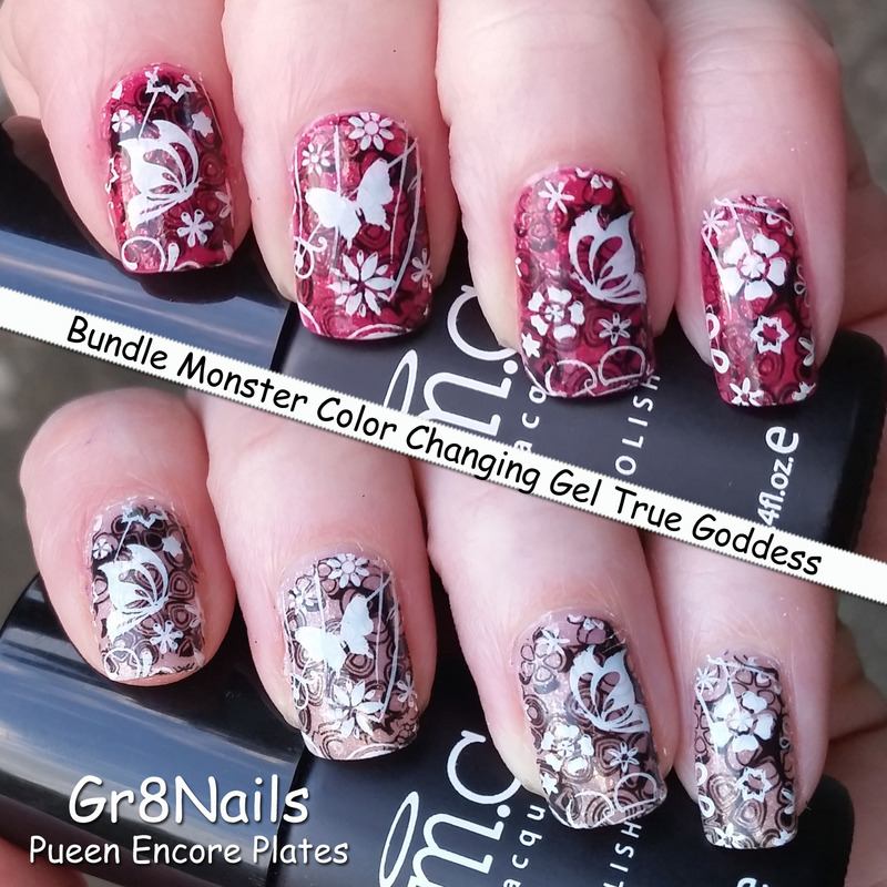 color changing  nail art by Gr8Nails