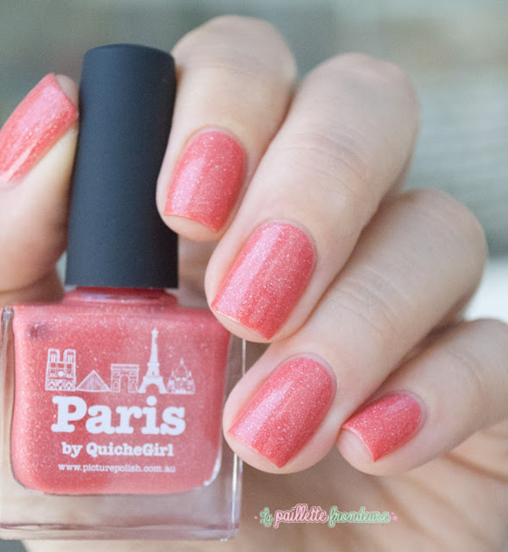 piCture pOlish Paris Swatch by nathalie lapaillettefrondeuse