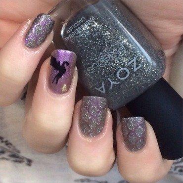 Triwizard Tournament  nail art by allwaspolished