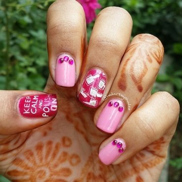 Love for nail art😊  nail art by Shailee