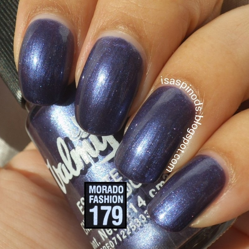 Valmy Morado Fashion 179 Swatch by Isabel