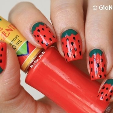 [@clairestelle8 July Challenge] Fruit nail art by Giovanna - GioNails